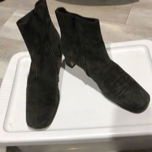 Italian ankle suede boots
